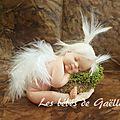 Petit ange dans son nid ( 40€ )