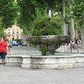 0548 - Fontaine Cours Mirabeau Aix 16 juin