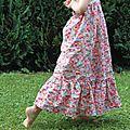 Une robe sofia haute en couleurs !