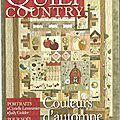 * Magazine Quilt Country n° 21