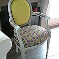 Le fauteuil médaillon réactualisé