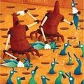 Les canards bleus.