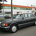 MERCEDES 560 SE W126 berline 1989 Mannheim (1)