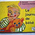 Le <b>journal</b> de <b>bébé</b>, Héliane Bernard, Album Dada