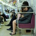 Keio sleeping girl