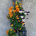 {au jardin} diy - une suspension pour les fleurs