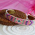 Nouveau bracelet tissé