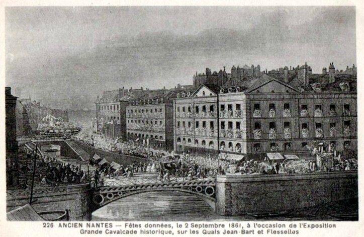 Ancien Nantes - Exposition 1861