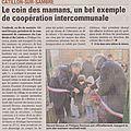 Texte la Voix du Nord du dimanche 12 fevrier 2012.