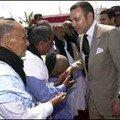 صاحب الجلالة الملك محمد السادس في زيارة للصحراء المغربية الغالية