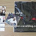 CD Goodbye Lullaby-édition collector-version de Taïwan+sac promo