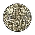 Bowl with four phoenixes, iran, 14th century