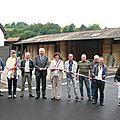 Bourbach-le-bas: la cour des seigneurs inaugurée