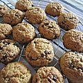 Cookies à l'américaine - un tour en cuisine