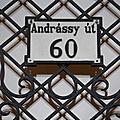 L'avenue andrassy