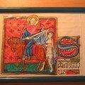 Saint Martin partageant son manteau