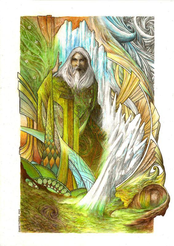 Merlin de David Thiérrée
