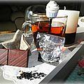 ╰☽ 67# thé noir caramel anglais n°19 de la maison de thé le théier collection