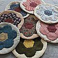 Une série de mug rug