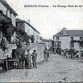Vol de harnais à la foire d'<b>Isle</b> <b>Jourdain</b> - Prisonnier Bôche à Availles-Limouzine.