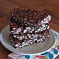Barres Cacao - Riz soufflé [vegan]