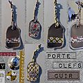 Porte Clefs Cuir - Liberty
