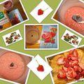 Sucre fraise, framboise et groseille