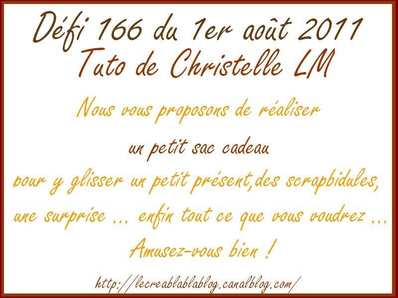 défi 166