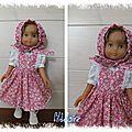 Tenues pour poupées little darling et petites chéries de corolle 32/33 cm