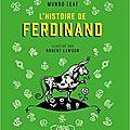 L'histoire de ferdinand de munro leaf