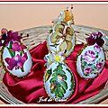 Oeufs Pâques décorés Panier 4