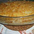 Gratin de riz simple