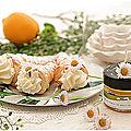 Cornets feuilletés à la crème citronnée....Trop bon!!!!!