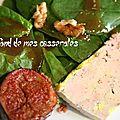 Salade d'automne au foie gras