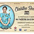 <b>Christine</b> <b>Berrou</b>, succès comique avec Depuis 1982