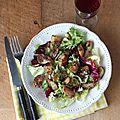 Salade de pommes de terre sautées aux aromates (+ concours)