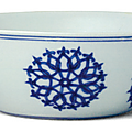Blue and white 'Floral' shallow bowl, Chenghua period (1465-1487), Collection of the Palace Museum, Beijing