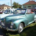 PEUGEOT 203 <b>cabriolet</b> 1952