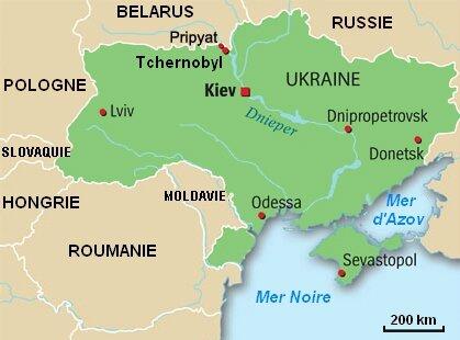 L'accident de Tchernobyl, une présence dans le ciel   F.E.A