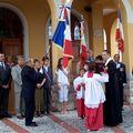 Association patriotique : baptême du drapeau