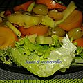 Salade aux fruits version salée
