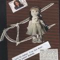 L'art postal, une poupée qui a de l'allure,reçue de zarou