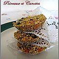 Galettes quinoa poireaux et carottes