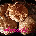 Kuttu kiPoori / <b>Buck</b> wheat Poori/ Galettes de sarrasin frites