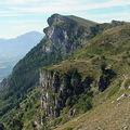 Rochers du Baconnet 1808 m et du Cléton 1669 m de Gresse-en-<b>Vercors</b>