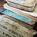 Anciens livres d'école