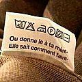 Logos étiquette pull, comment laver ?