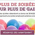 Stampin'Up! fête ses 25 ans et offre un bonus de 25 € en <b>bons</b> <b>d</b>'<b>achat</b> hôtesse