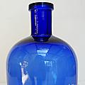 Autres Flacons ... FLACON APOTHICAIRE * Bleu