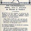 Pigeon de Verdun